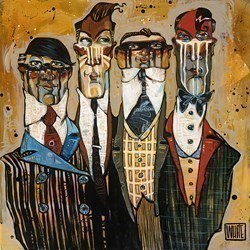 Suited For War by Todd White - Hand Finished Limited Edtion on Canvas sized 26x26 inches. Available from Whitewall Galleries